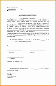 Acknowledgement Certificate Templates Acknowledgement Certificate Templates 24 Acknowledgement Receipt Of 20