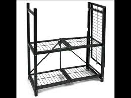 3 shelf steel collapsable storage rack metal shelving units folding storage shelves you