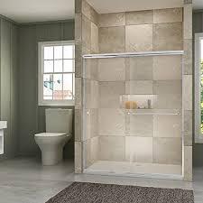 sunny shower b020 frameless bypass sliding shower doors 56