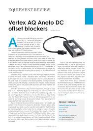 vertex aq hi>fi aneto review