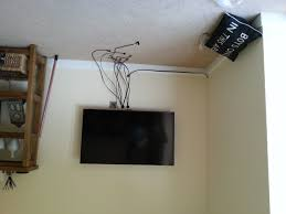 wall mounted tv real room designs rh realroomdesigns co uk hide cables on wall mounted tv tv in wall wire management
