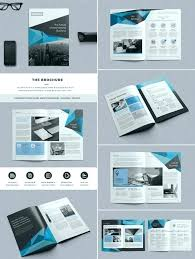 Two Page Brochure Template Brochure Pages Template 70 Modern Corporate Brochure Templates 6