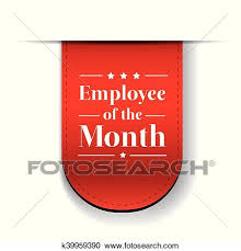Employee Of The Month Award Employee Of The Month Award Ribbon Clipart K39959390