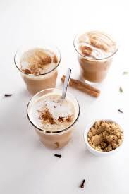 homemade chai syrup made with freshly ground ginger cardamom black pepper cloves