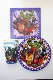 Avengers Party Decorations Popular Avengers Birthday Party Supplies Buy Cheap Avengers