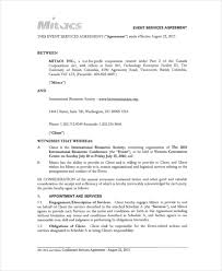 Event Planning Services Agreement Event Planning Template 12 Free Word Pdf Documents