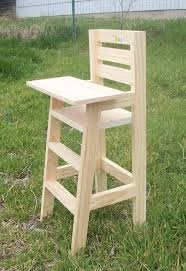 wooden high chair converts to table and woodenble for child garden