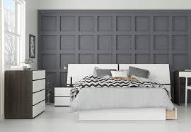 Amazon.com: Nexera London 4 Piece Full Size Bedroom Set, Ebony ...