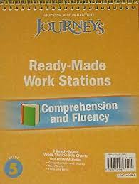 Mentoring Minds Common Core Standards And Strategies Flip Chart Journeys Ser Houghton Mifflin Harcourt Journeys Ready Made Reading And Fluency Flip Chart Grade 5 2010 Spiral