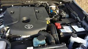 Toyota Hilux 2017 2.4 liter diesel engine - YouTube