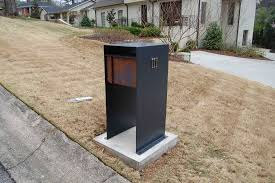 modern mailbox etsy. Plain Mailbox Modern Mailbox Post Stylish Image Of Mailboxes Stainless Steel Curbside  Design Outdoor Inside 14  With Etsy