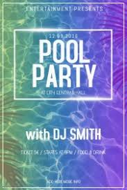 pool party flyer template blank. Wonderful Template Pool Party Poster Flyer Template In Party Flyer Template Blank L