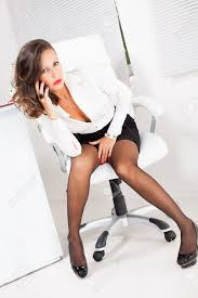 hot office pic. Hot Business Woman Talking On The Mobile Phone In Office Stock Photo - 27868838 Pic