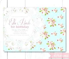 Tea Party Invitations Free Template Vintage Tea Party Invitations Zoli Koze