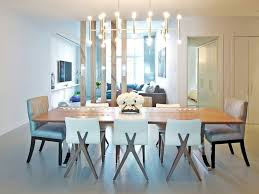 picture of contemporary dining room chandeliers