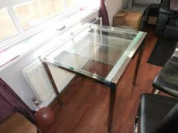 extendable glass dining table only a90 ikea glivarp extendable glass dining table with 4 x