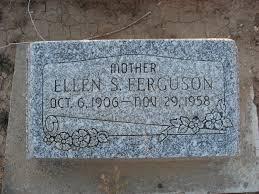 Ellen Elvira Sampson Ferguson (1906-1958) - Find A Grave Memorial