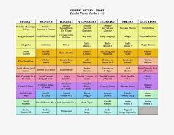 Image Result For Suzuki Violin Late Book 1 Practice Chart