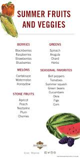 Pairing Wine With Summer Fruits And Vegetables