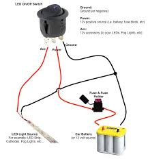led wiring diagram 12v wiring diagram schematics baudetails info on off switch led rocker switch wiring diagrams