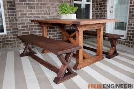 DIY X-Brace Bench | Easy Woodworking Projects