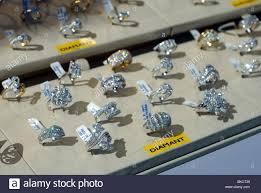 antwerp belgium diamond jewelry in a window
