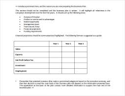 Sample Business Plans Templates 17 Business Strategy Templates Free Sample Example Format
