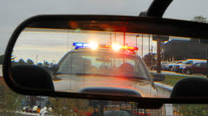 Cop Lights Rear View Mirror Flashing Lights In The Rearview Mirror What To Do When