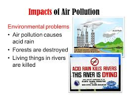 Air Pollution. Pollution is the introduction of substances into ...