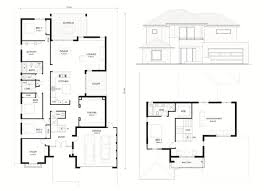 picturesque design ideas narrow lot house plans adelaide 2 two y story with balconies designs 12