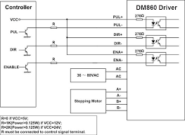 stepper motor driver dm860 Simple Wiring Diagrams Dm860a Wiring Diagram #15