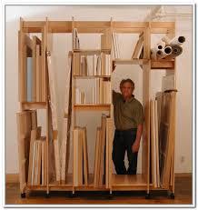 vertical storage racks for paintings