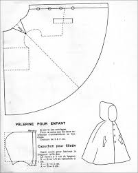 Hooded Cape Pattern Child