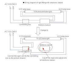 lamp led tube wiring diagram wiring diagrams