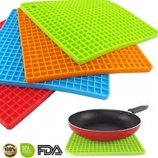 Silicone Pot Holders,4PCS Multipurpose Silicone ... - Amazon.com