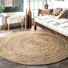 round jute rug 8 home la natural fiber braided reversible jute area rug jute rug 8x6 round jute rug