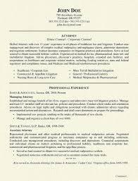 Healthcare Attorney Resume Example