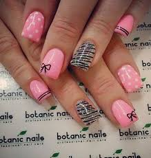 Simple Nail Design Ideas 55 Bow Nail Art Ideas