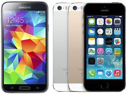 Samsung Galaxy S5 vs Apple iPhone 5s ...