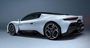 the mc20 is the maserati sports car we