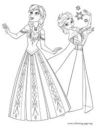 Two Beautiful Princesses Of Arendelle Elsa And Anna Disney Frozen
