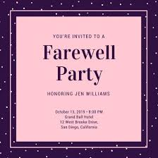 Going Away Party Invitation With Going Away Party Invitation Wording