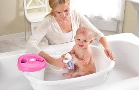 toddler bath tub for shower summer infant newborn to toddler bath center shower pink toddler bathtub