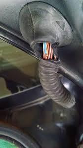 broken e46 trunk wires