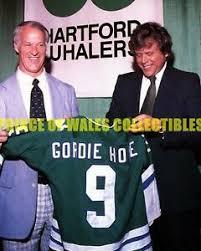 GORDIE HOWE & HOWARD BALDWIN 8X10 PHOTO | eBay
