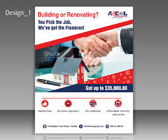 flyer companies modern professional marketing flyer design for amcol group of