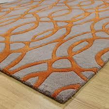 impressive orange and grey rug rug designs for orange and grey area rug attractive
