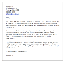 How To Do A Cover Letter For A Resume Amazing Cover Letter Formats Jobscan