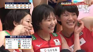 日本 女子 バレー ランキング
