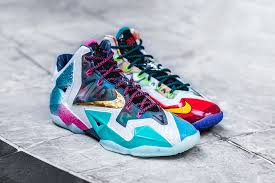 all lebron shoes ever made. overall, nike did a great job on this shoe, incorporating all facets of previous lebrons into one shoe the lebron xi. shoes ever made 0